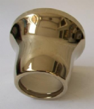 Low Level Toilet Cistern Flush Pipe Tail Shroud Gold Effect - 08001223